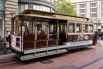 坂の街サンフランシスコ名物,ケーブルカー