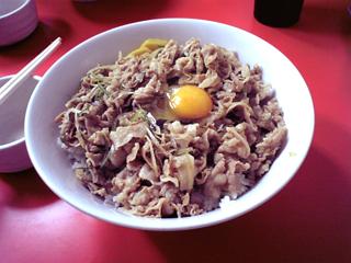 スタ丼(ニク増し)