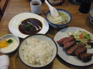 牛タンとタンシチュー(ミニ)